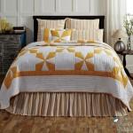 cuvertura matlasata alb cu orange in stil victorian