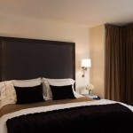 draperii opace pentru dormitor culoare mocca