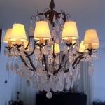 Candelabru pentru living room in stil neo-clasic