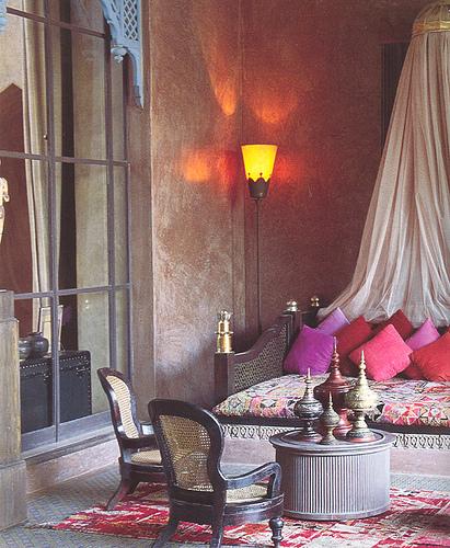 Idee de amenajare a unui dormitor in stil clasic marocan