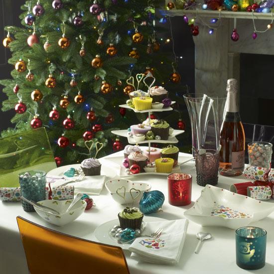 Idee de decorare a mesei pentru Craciun