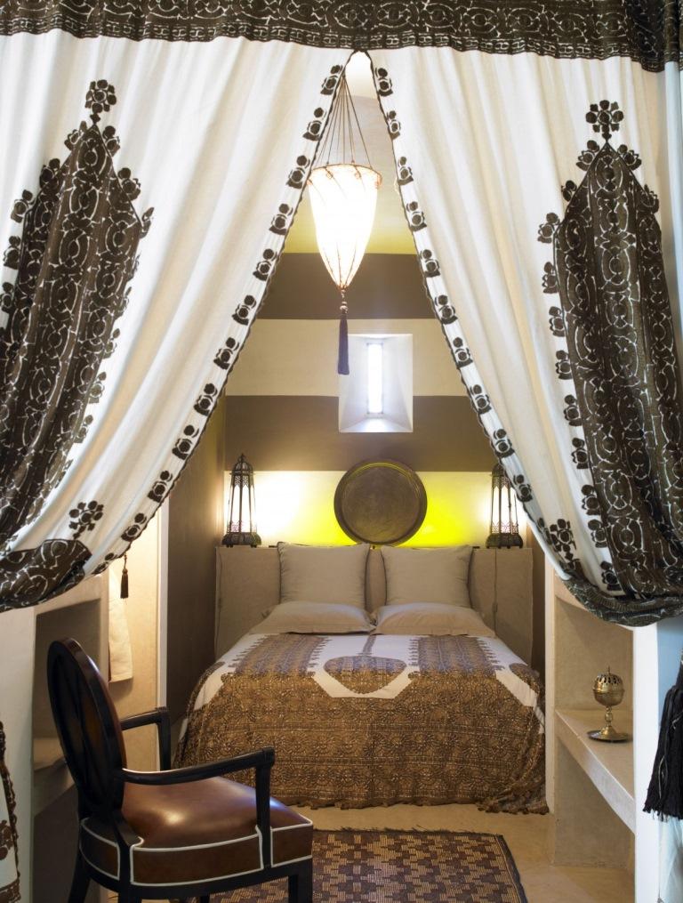O idee despre cum iti poti amenaja un dormitor cu design marocan