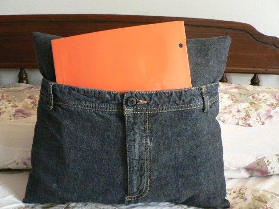 Perna interesanta din jeans vechi