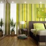 camnera cu accente bogate de galben si verde