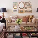 masuta de cafea din lemn si metal pentru livingroom