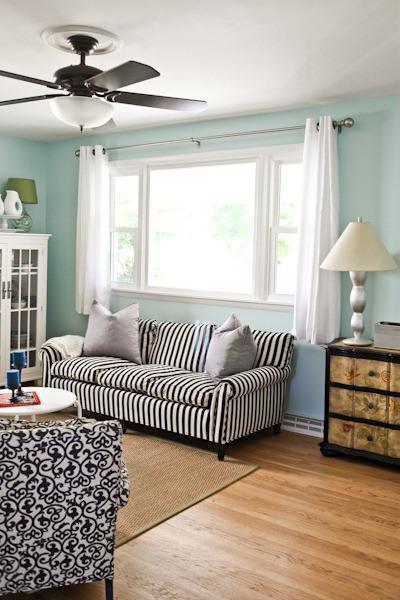Ferestre cu perdele scurte o provocare in decorarea How long should bedroom curtains be