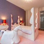 dormitor modern pentru fetita la scoala