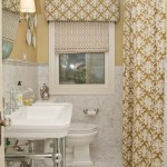 Amenajare simplista si eleganta pentru baie