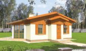 Proiect casa parter de 80 mp