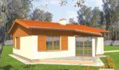 casa cu obloane din lemn