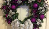 mov-si-argintiu-decoratiune-usa-intrare