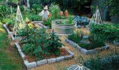 Amenajare si impartite gradina legume