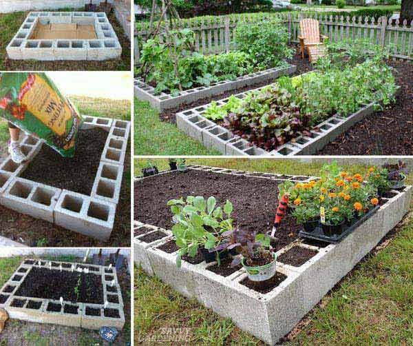 Cum construiesti un pat pentru legume si flori