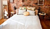 Dormitor amenajat minimalist