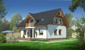 Model de casa cu mansarda