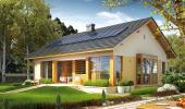 Proiect casa structura lemn cu parter