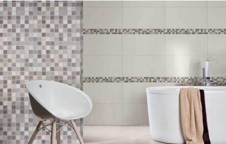 baie cu mozaic decorativ
